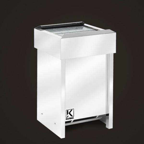 Электропечь KARINA Люкс в камне талькохлорит (Горизонтальный) 8 кВт