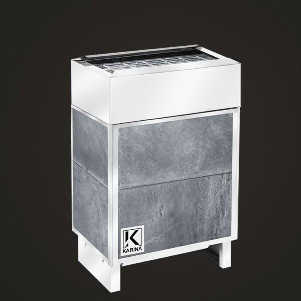 Электропечь KARINA Премиум в облицовке талькохлорит (Горизонтальный) 8 кВт
