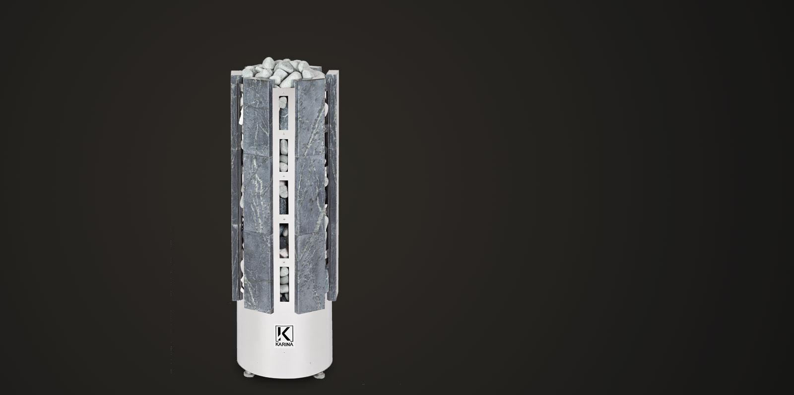 Электропечь KARINA Прометей в облицовке талькохлорит 10 кВт