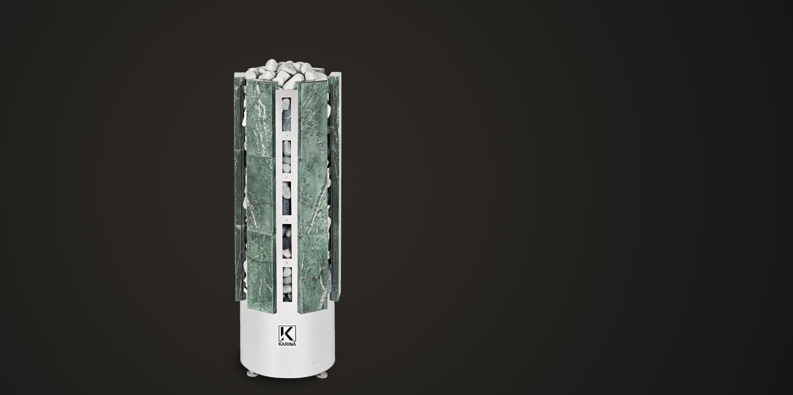 Электропечь KARINA Прометей в облицовке змеевик 14 кВт