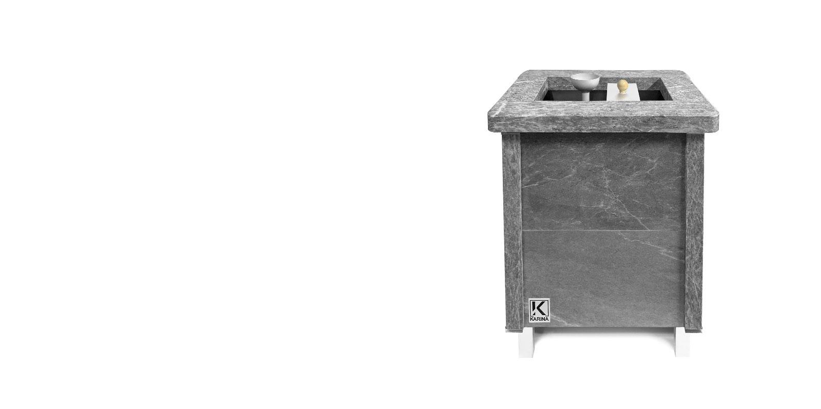 Электрическая печь KARINA Quadro 4,5 Талькохлорит