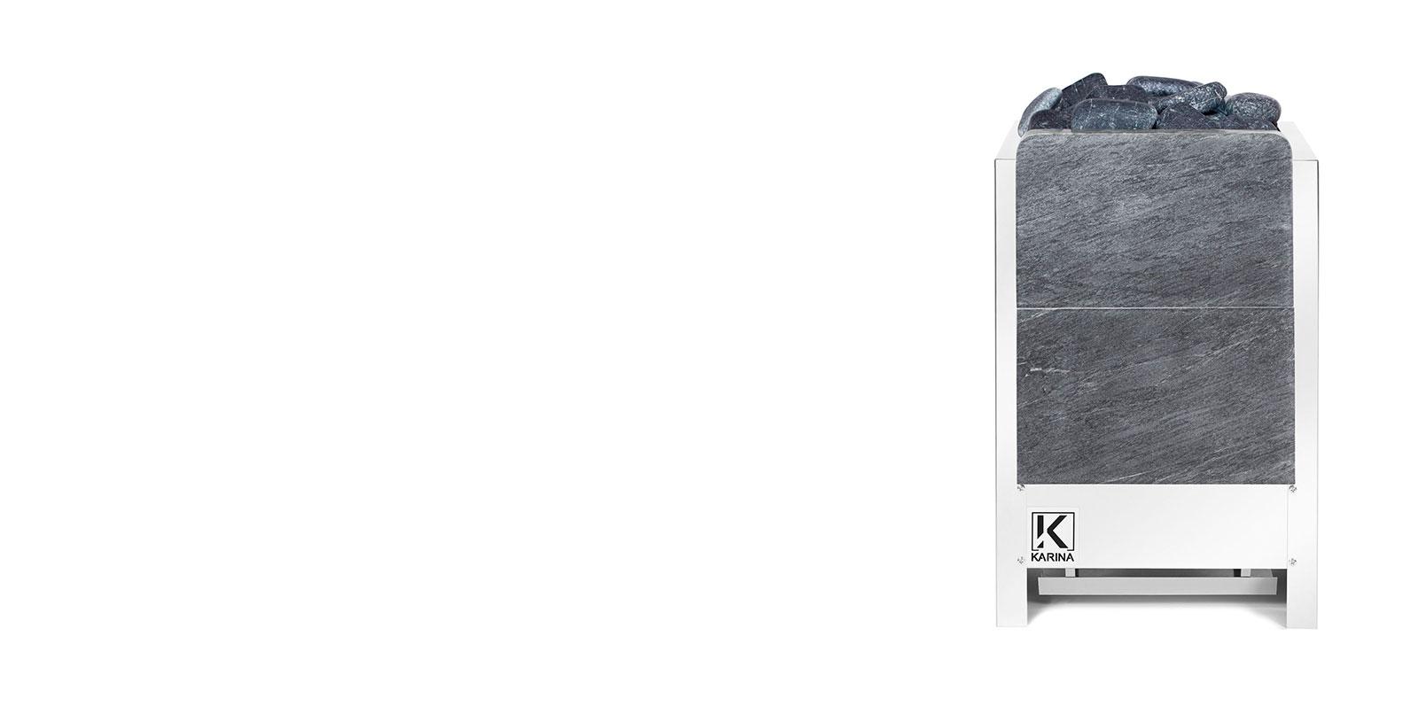 """Электропечь KARINA """"Люкс"""" в камне талькохлорит (Вертикальный) 32 кВт"""