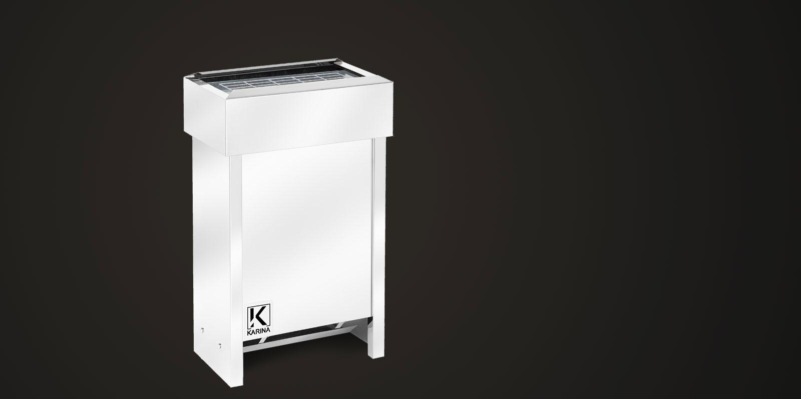 """Электропечь KARINA """"Люкс"""" в камне талькохлорит (Горизонтальный) 4 кВт"""