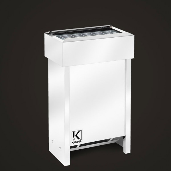 """Электропечь KARINA """"Люкс"""" в камне талькохлорит (Горизонтальный) 8 кВт"""