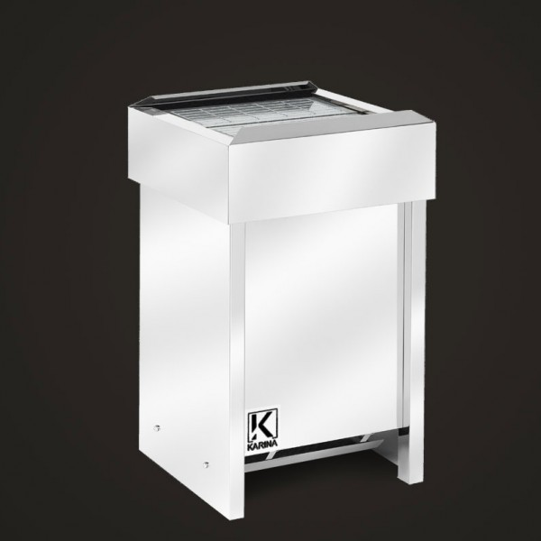 """Электропечь KARINA """"Люкс"""" в камне талькохлорит (Горизонтальный) 28 кВт"""
