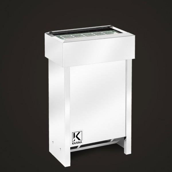 """Электропечь KARINA """"Люкс"""" в камне змеевик (Горизонтальный) 6 кВт"""